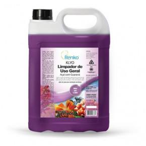 galão de 5 litros de limpador pra uso geral renko