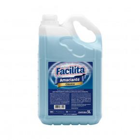 amaciante classico audax embalagem de 5 litros azul