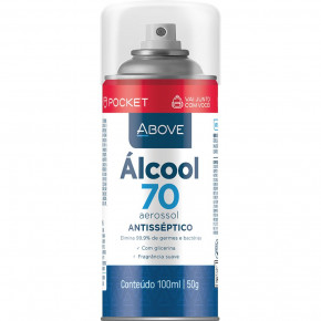 Álcool Spray 70% - Above 100ml - Baston