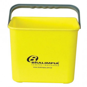 balde 4L amarelo bralimpia
