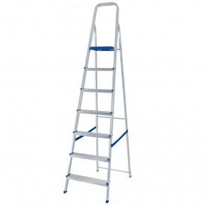 escada de aluminio 7 degraus mor