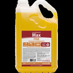 embalagem detergente desengraxante max pine 5L audax
