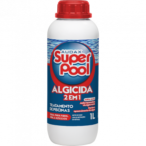 algicida 2 em 1 super pool 1L audax