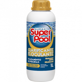 embalagem 1L clarificante e floculante super pool audax