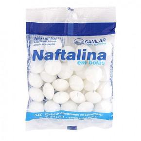 Naftalina 50 gramas