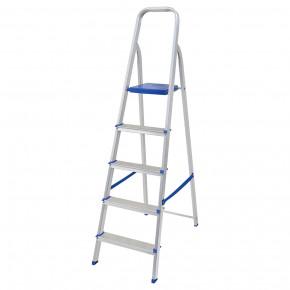 escada de aluminio 5 degraus mor