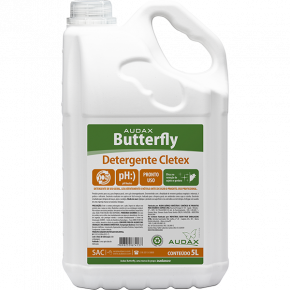 Detergente Neutro Cletex - Butterfly 5 Litros - Audax