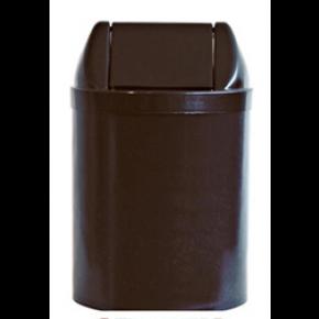 coletor com basculante preto 14L bralimpia