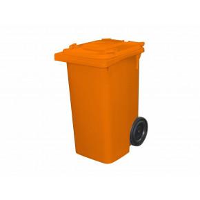 contentor laranja 240L modelo europeu bralimpia