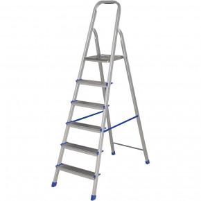escada de 6 degraus de alumínio mor