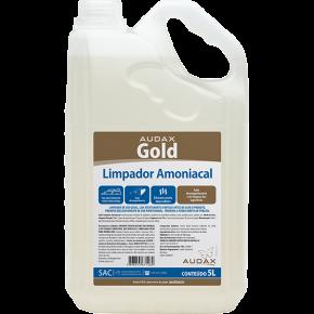 embalagem limpador amoniacal 5L gold audax
