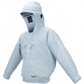 Jaqueta de Resfriamento à Bateria com Gorro - DFJ207ZL - Makita